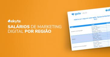 Planilha de Cargos e Salários de Marketing Digital por Região