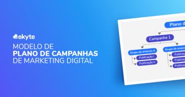 Modelo de Plano de Campanhas de Marketing Digital