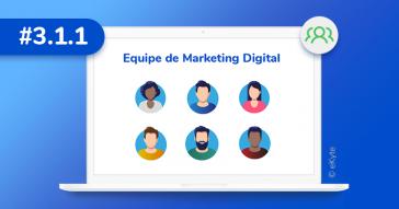 como montar equipe marketing digital
