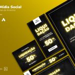 Criativo Preview - Liquidação - Display, Facebook, Instagram Template Grátis | eKyte