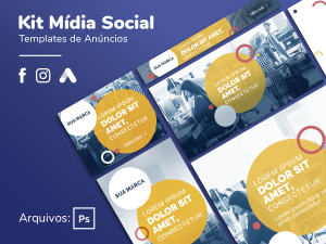 Criativo Preview - Branding - Google, Facebook, Instagram - Template Grátis | eKyte