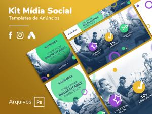 Criativo Preview - Campanha Completa - Display, Facebook, Instagram - Template Grátis | eKyte