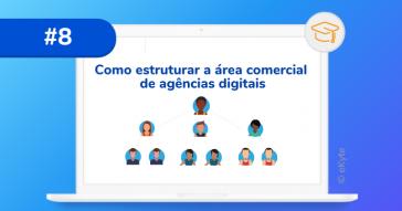 como estruturar a area comercial agencias digitais