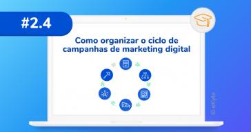 Como organizar ciclo de campanhas digitais