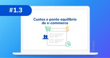 eKyte - calcular custos ponto equilíbrio e-commerce