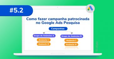 Como fazer campanha patrocinada no Google Ads Pesquisa