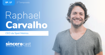 SinceroCast Ep17 - Raphael da Spot Metrics Inovação no Varejo Offline