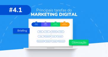Quais as principais tarefas no Marketing Digital
