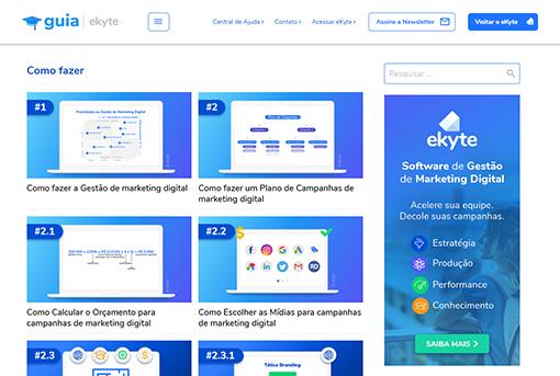 Guia de Gestão de Marketing Digital Como Fazer e Conceitos